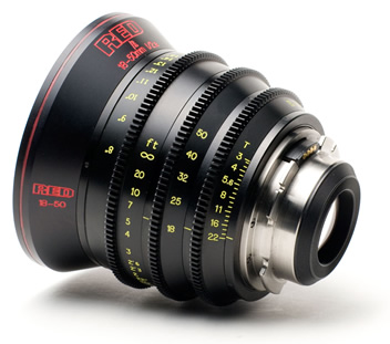 Red Pro 18-55mm T/3 Zoom Lens PL mount
